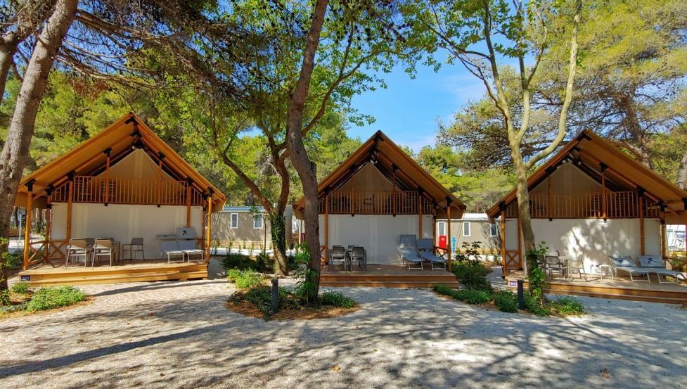 Glamping - Falkensteiner Premium Camping Zadar, Northern ...