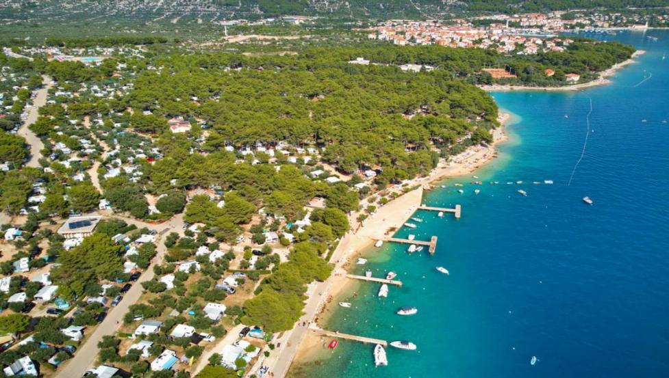Mobilheime Kovacine, Camp Kovacine, Insel Cres, Kroatien